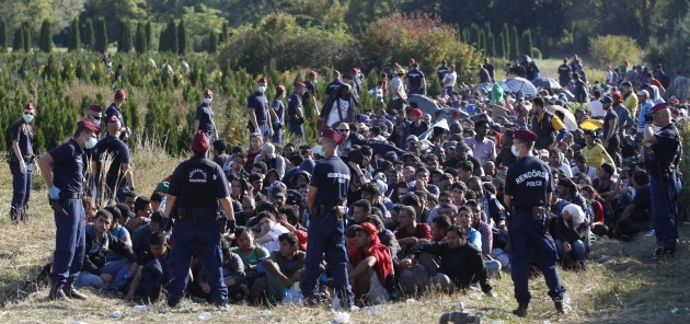 Hungary Migrants