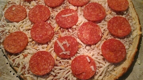 Am I the only one around here that organizes the pepperoni on my frozen pizza before putting it in the oven?