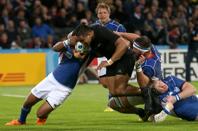 Rugby Union - Rugby World Cup 2015 - Pool C - New Zealand v Namibia - Olympic Stadium