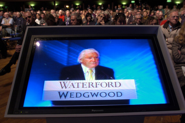 SIR ANTHONY O REILLY WATERFORD WEDGWOOD