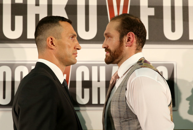 Boxing - Wladimir Klitschko and Tyson Fury File Photo