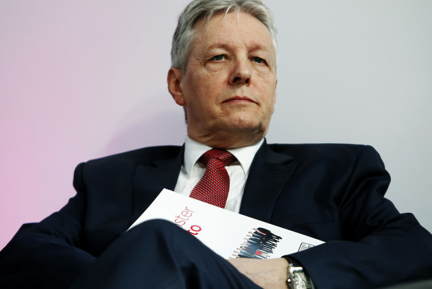 Peter Robinson in hospital