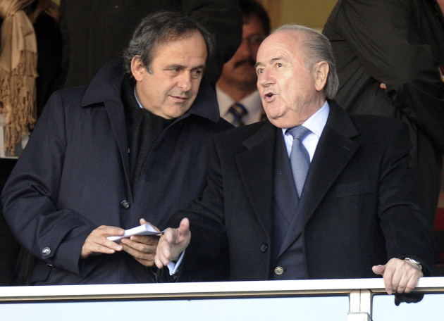 South Africa Soccer WCup Platini
