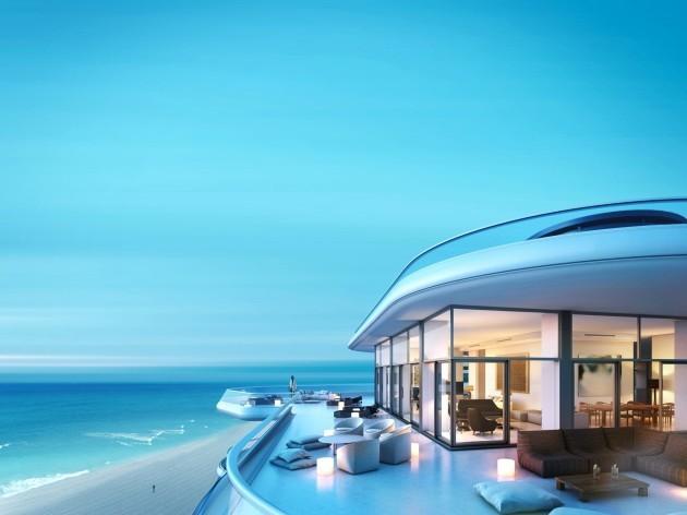 faena house penthouse terrace