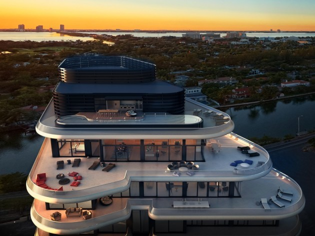 faena house aereal from east