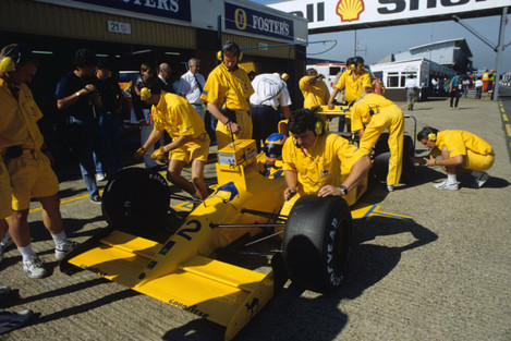 Formula One Motor Racing - British Grand Prix - Silverstone 1990