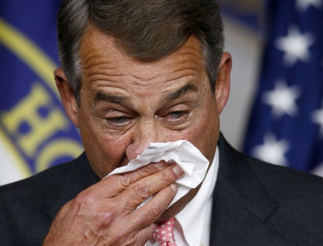 Boehner Resigning