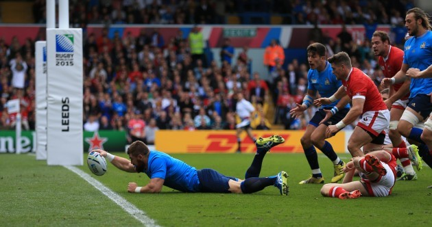 Rugby Union - Rugby World Cup 2015 - Pool D - Italy v Canada - Elland Road