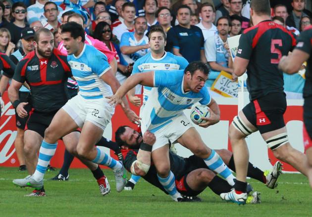 Britain Rugby WCup Argentina Georgia