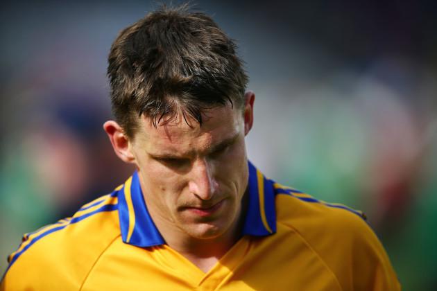 A dejected John Conlon