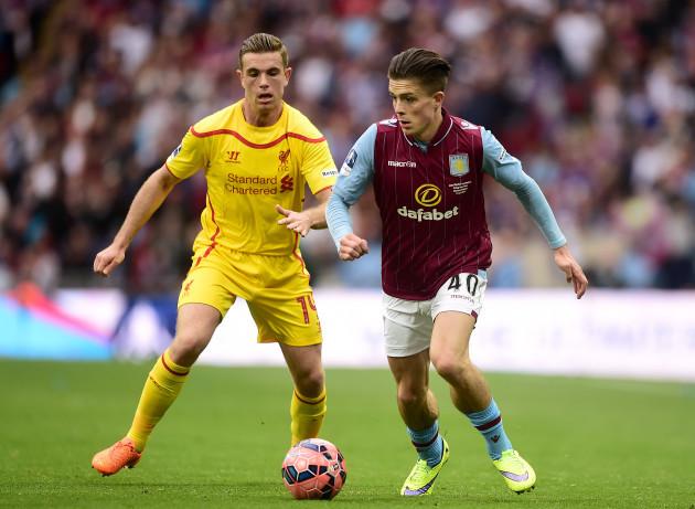 Soccer - FA Cup - Semi Final - Aston Villa v Liverpool - Wembley Stadium