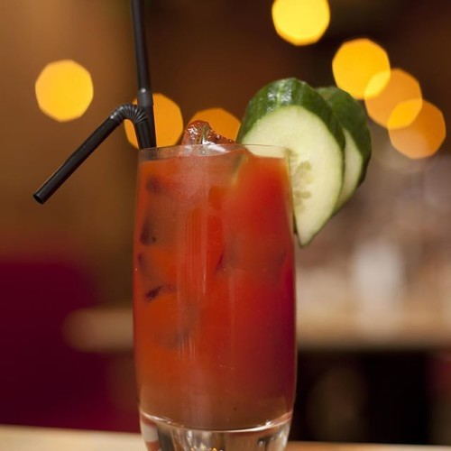 Bloody Mary at the #brunchofchampions . We open at 10.30am til 4pm for brunch. #sanlorenzos