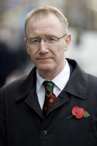 6/11/2012 Fine Gael Frank Feighan Wearing Poppys