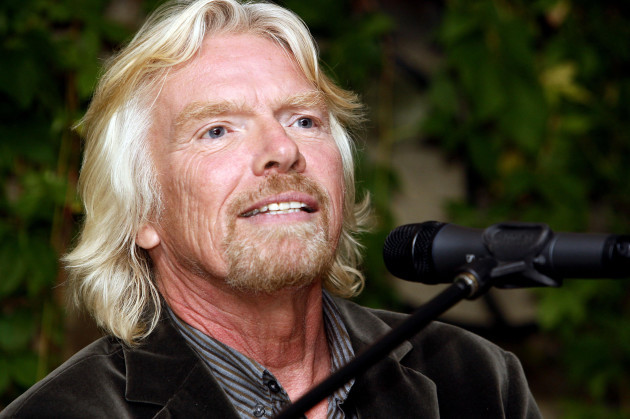 Richard Branson's 'Business Stripped Bare' Book Launch Party - London