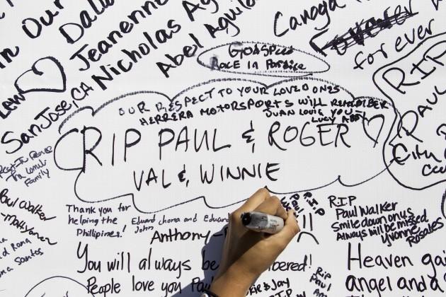 Paul Walker Memorial