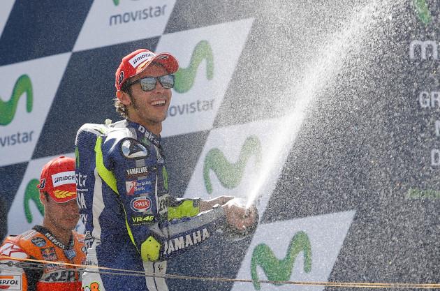 Spain MotoGP Motorcycle Racing