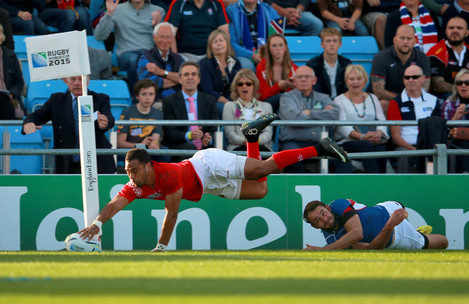 Rugby Union - Rugby World Cup 2015 - Pool C - Tonga v Namibia - Sandy Park