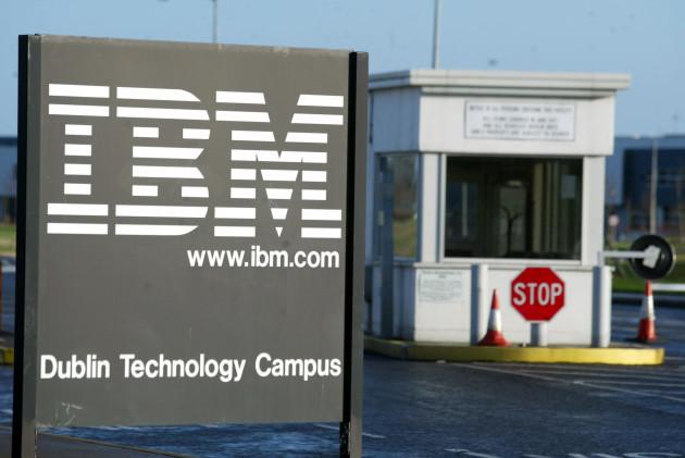 IBM JOB GAINS DUBLIN TECHONOLGY CAMPUS INFORMATION TECHNOLOGY COMPUTERS INDUSTRY IN IRELAND