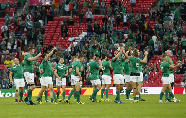 Britain Rugby WCup Ireland Romania
