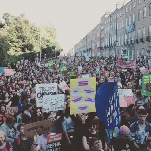 Dear Enda, This is what democracy looks like. 15,000 people on the streets of #Dublin. #repealthe8th #ARCmarch15 #marchforchoice