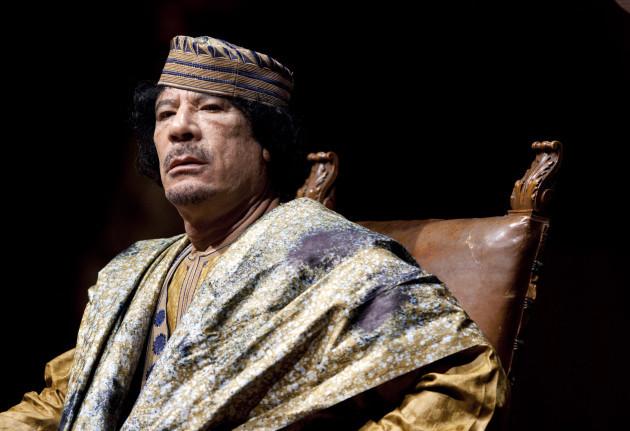 Politics - Libya - Muammar al-Gaddafi - Rome