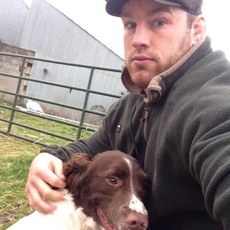 Selfie with Cedar! Loves a walk