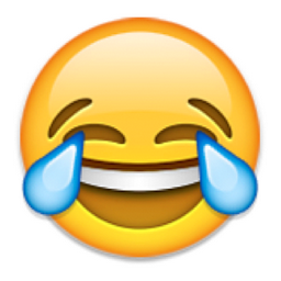 Laughing emoticon facebook