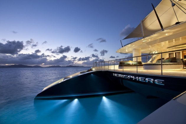 The world's largest catamaran is so big it has its own