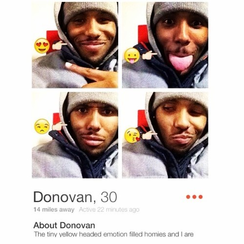 Donovan and his emoji homies. Which one's your fav face ?