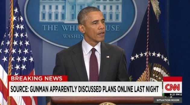 WATCH: Obama responds angrily to mass shooting: