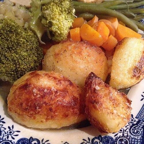 Roast dinner by @pearny1971