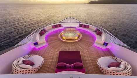 the-very-upper-deck--the-boat-has-six--is-dedicated-to-the-owner-the-outside-area-includes-a-jacuzzi-which-has-been-recessed-in-order-to-prevent-it-from-disturbing-the-view-and-a-seating-area-for-15-or-more