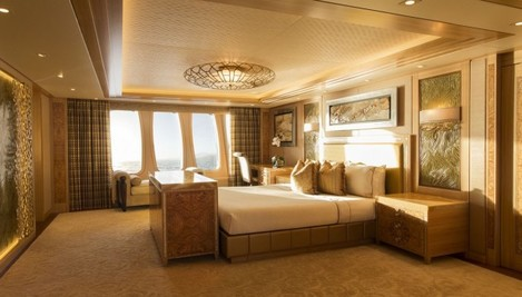 while-the-other-bedrooms-are-not-as-grand-as-the-master-suite-they-definitely-arent-bad-with-views-out-of-giant-windows-onto-any-location-the-boat-chooses-to-go-and-an-ensuite-bathroom-to-every-room