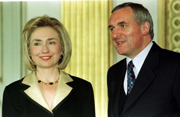 IRISH Clinton&Ahern 3