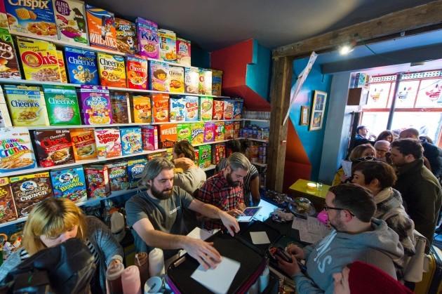 Cereal Killer cafe - London