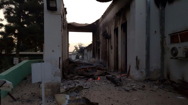MSF Staff Killed and Hospital Partially Destroyed in Kunduz, Afg