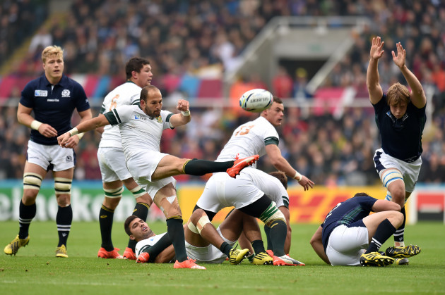 Rugby Union - Rugby World Cup 2015 - Pool B - South Africa v Scotland - St James' Park
