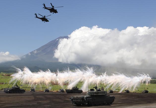 Japan Unleashing the Troops