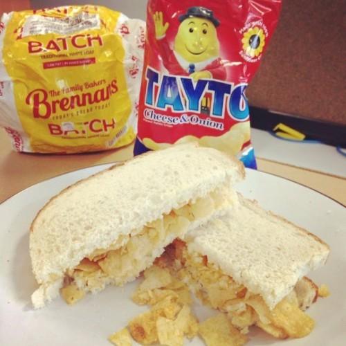 Tayto Sandwich time! !#irishsydney #tasteireland #irishfood #Tayto #BrennansBreadAustralia #TaytoSandwich