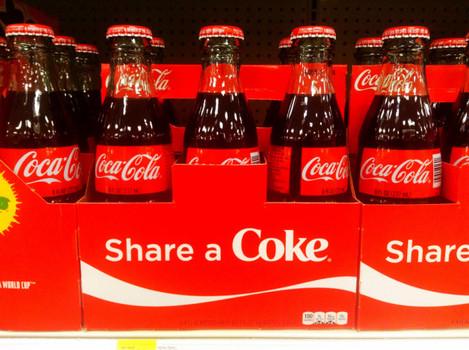 Coca Cola, Share a Coke