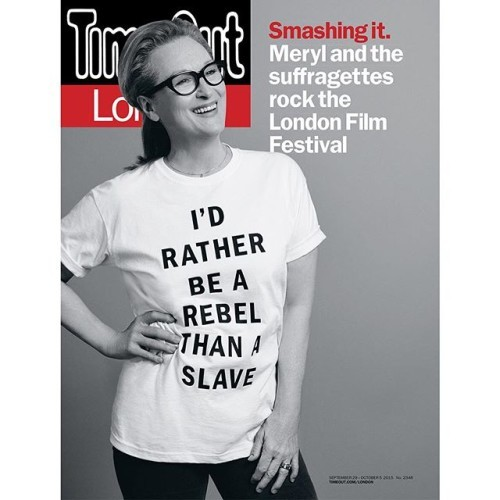 I'm so honored to have shot #merylstreep gracing the cover of this weeks #timeoutlondon. Out on stands today. #suffragette