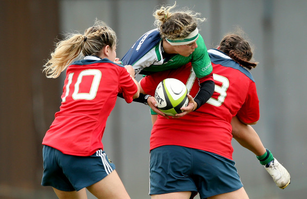 Laura O'Mahony and Ger Rea tackle Grainne Egan