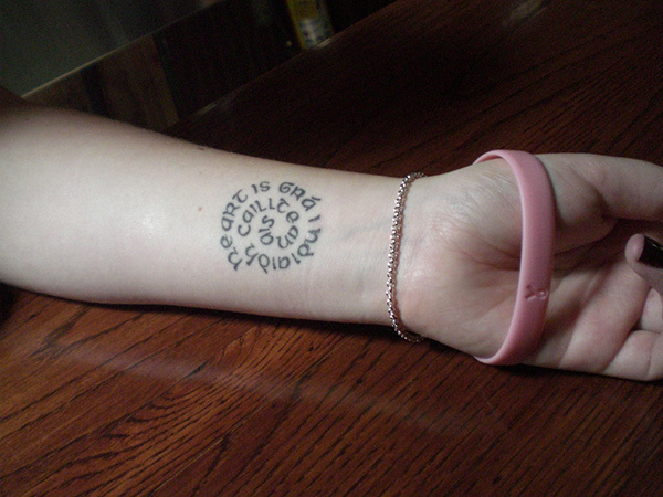 18 gorgeously subtle tattoos inspired by ireland 183 the