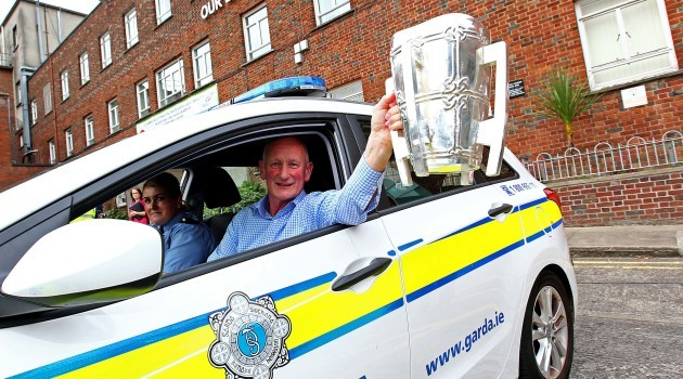 Brian Cody with The Liam McCarthy Cup
