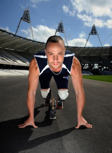 Paralympics - Oscar Pistorius Photocall - Olympic Park