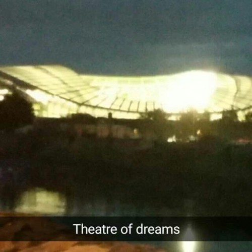 Called it before the match #COYBIG #avivastadium #theatreofdreams