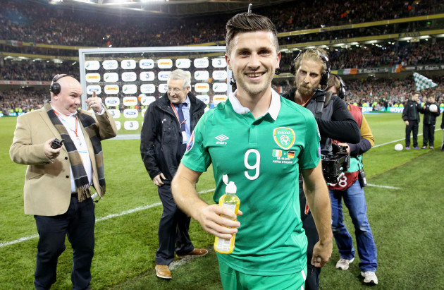Soccer - UEFA Euro 2016 - Qualifying - Group D - Republic of Ireland v Germany - Aviva Stadium