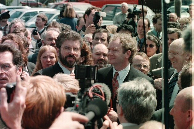 Ulster talks (Adams & McGuinness)