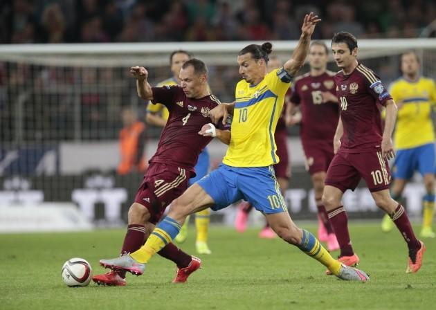 Russia Sweden Euro Soccer