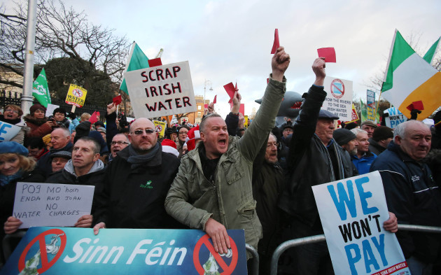 Right2Water protest - Dublin